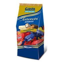 Giusto Torroncini Assortiti Senza Zucchero 250g - Farmafirst.it