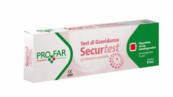 TEST DI GRAVIDANZA SECURTEST 2 PEZZI - latuafarmaciaonline.it