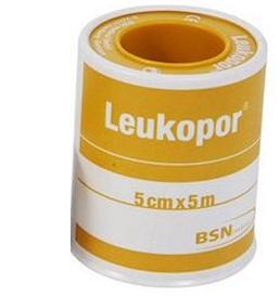 Leukopor Cerotto in Rocchetto TNT Bianco 5 x 500cm - Sempredisponibile.it