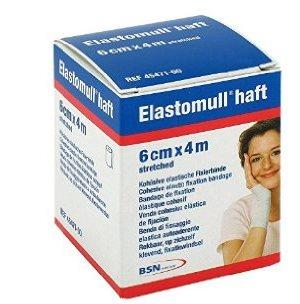 BENDA ELASTICA AUTOADESIVA ELASTOMULL HAFT COMPRESSIONE FORTE 6X400 CM - Farmabellezza.it
