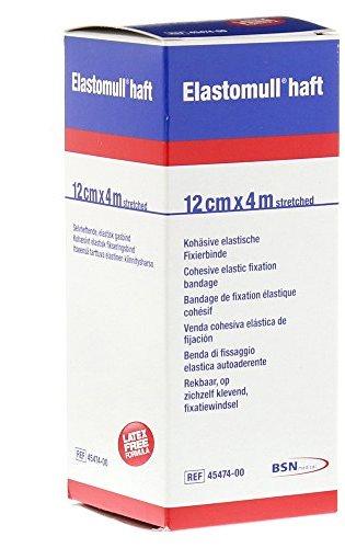 BENDA ELASTICA AUTOADESIVA ELASTOMULL HAFT COMPRESSIONE FORTE 12X400 CM - Farmabros.it