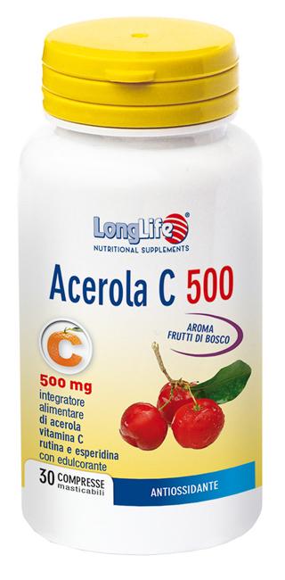 Longlife Acerola C500 30 Tavolette - Arcafarma.it