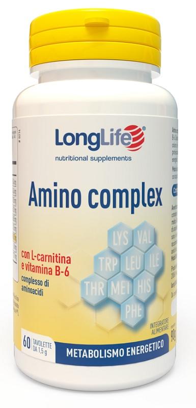 LONGLIFE AMINO COMPLEX 60 TAVOLETTE - Sempredisponibile.it
