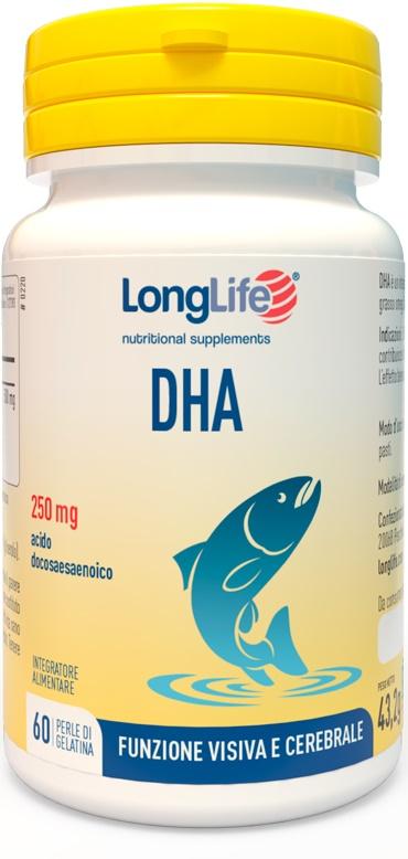 LONGLIFE DHA 200 MG 60 PERLE - Zfarmacia