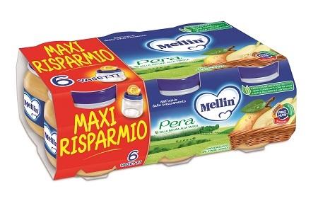 MELLIN OMOGENEIZZATO PERA 100 G 6 PEZZI - Farmapage.it