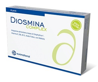 DIOSMINA COMPLEX 15 PERLE - Parafarmacia la Fattoria della Salute S.n.c. di Delfini Dott.ssa Giulia e Marra Dott.ssa Michela