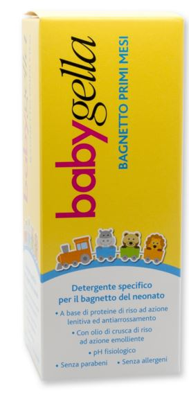 BABYGELLA BAGNO PRIMI MESI 200 ML - Farmabellezza.it