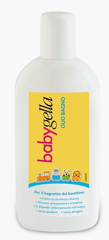 BABYGELLA OLIO BAGNO FLACONE 150 ML - Farmafamily.it