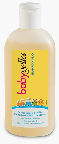 BABYGELLA SHAMPOO OLIO FLACONE 150 ML - Farmacia33