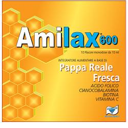 AMILAX 600 10 FLACONCINI 10 ML - Farmafamily.it