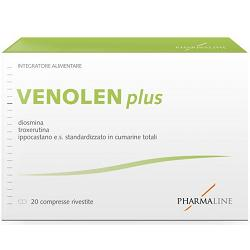 VENOLEN PLUS 20 COMPRESSE - Farmapass
