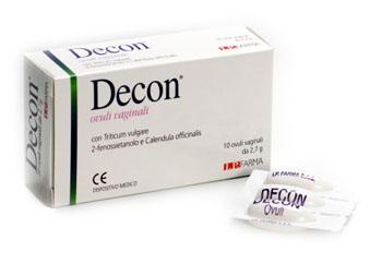 DECON OVULI VAGINALI 10 OVULI - Farmaseller