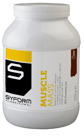MUSCLE MASS CACAO 1200 G - Spacefarma.it