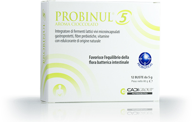 PROBINUL 5 12 BUSTINE 5 G AROMA CIOCCOLATO - Farmaciacarpediem.it