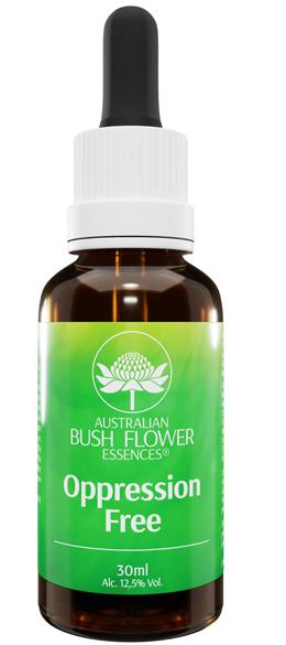 AUSTRALIAN BUSH FLOWER OPPRESSION FREE 30ML ESSENZA GOCCE - Nowfarma.it