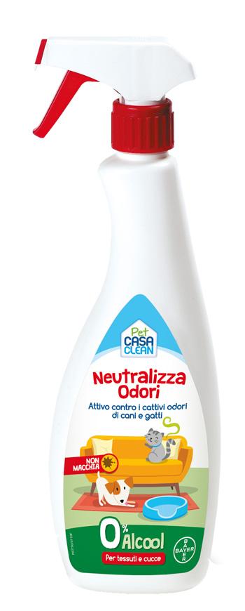 PET CASA CLEAN NEUTRALIZZA ODORI 750 ML - Farmastar.it
