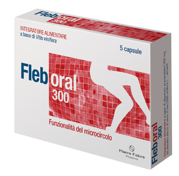 FLEBORAL 300 5 CAPSULE - Farmaciacarpediem.it