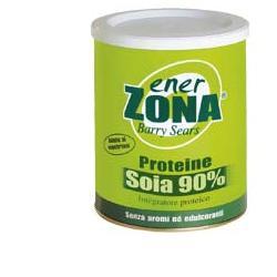 ENERZONA PROTEINE SOIA 90% 216 GRAMMI - Spacefarma.it