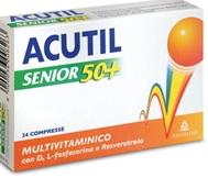 ACUTIL MULTIVITAMINICO SENIOR 50+24 COMPRESSE - La farmacia digitale