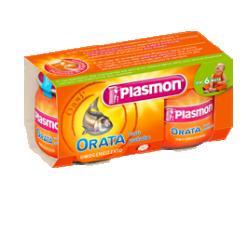 PLASMON OMOGENEIZZATO ORATA 80 G X 2 PEZZI - Farmapass