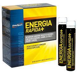 ETHICSPORT ENERGIA RAPIDA+ 10 FLACONCINI 25 ML - Farmaseller