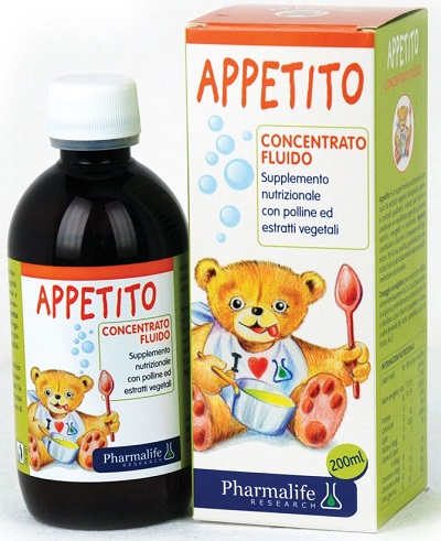 PHARMALIFE APPETITO BIMBI 200 ML - Iltuobenessereonline.it