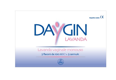 DAYGIN LAVANDA VAGINALE 5 FLACONI DA 100 ML + 5 CANNULE - Farmapage.it