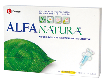 Alfa Natura Collirio 10 Flaconcini Monodose - Sempredisponibile.it