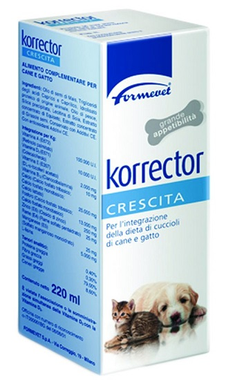 KORRECTOR CRESCITA FLACONE 220 ML - Sempredisponibile.it