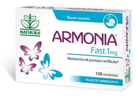 ARMONIA FAST 1 MG MELATONINA 120 COMPRESSE - Farmabenni.it