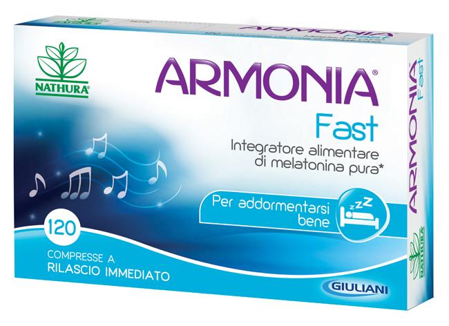 ARMONIA FAST 1 MG MELATONINA 120 COMPRESSE - Farmawing