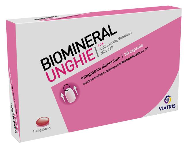 BIOMINERAL UNGHIE 30 CAPSULE - Farmaconvenienza.it