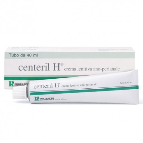 CENTERIL H CREMA LENITIVA RETTALE 40 G - Farmaci.me
