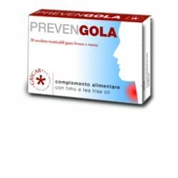 PREVENGOLA LIMONE MENTA 30 TAVOLETTE 15 G - Farmaseller