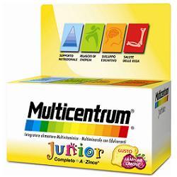 MULTICENTRUM JUNIOR 30 COMPRESSE MASTICABILI - Farmalke.it