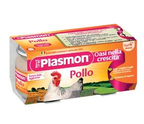 PLASMON OMOGENEIZZATO POLLO 120 G X 2 PEZZI - Farmastop