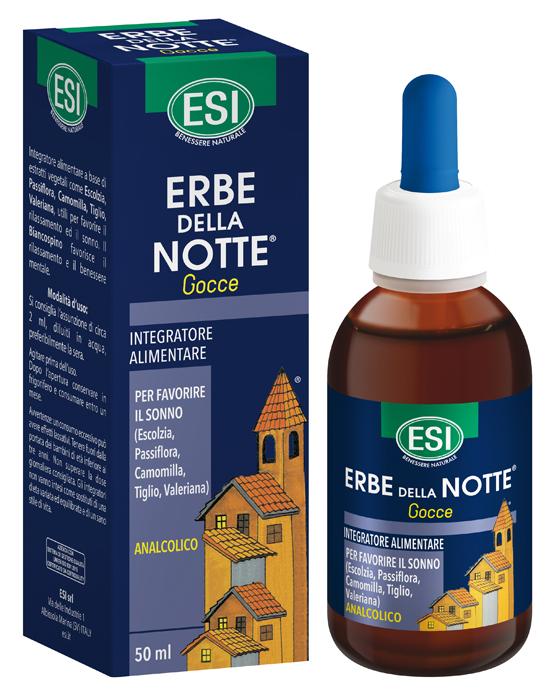 ESI ERBE DELLA NOTTE GOCCE ANALCOLICO 50 ML - Farmaseller