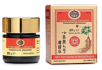 GINSENG IL HWA ESTRATTO 20 G - Farmafamily.it