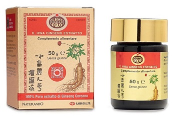 GINSENG IL HWA ESTRATTO 50 G - Farmafamily.it