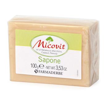MICOVIT SAPONE 100 G - Farmacia Centrale Dr. Monteleone Adriano