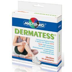 Master-Aid Dermatess Garza In Tessuto non Tessuto 10 x 10 cm 100 Pezzi - Farmalilla