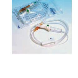SET STERILE PER INFUSIONE IN MATERIALE ANALLERGICO CON PARA E ROLLER. CONFEZIONE SINGOLA - FARMACIABORRELLI.IT