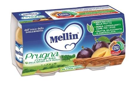 MELLIN OMOGENEIZZATO PRUGNA MELA 100 G 2 PEZZI - farmaciafalquigolfoparadiso.it