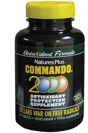COMMANDO 2000 ANTIOSSIDANTE 60 COMPRESSE - Farmabaleno