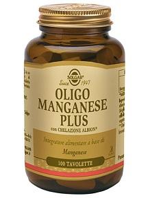 OLIGO MANGANESE PLUS 100 TAVOLETTE - Farmafamily.it