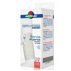 BENDA COMPRESSA ORLATA DI GARZA IDROFILA DERMATESS CAMBRIC 7X5 - Farmabros.it