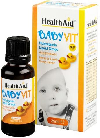 BABYVIT MULTIVIT 25 ML 1 PEZZO - Farmaseller