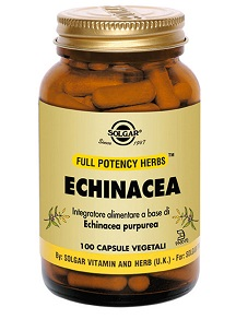 ECHINACEA 100 CAPSULE VEGETALI SOLGAR - Farmastar.it