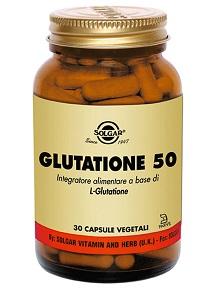 GLUTATIONE 50 30 CAPSULE VEGETALI - La farmacia digitale