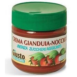 GIUSTO SENZA ZUCCHERO CREMA CACAO NOCCIOLE 200 G - Farmafamily.it
